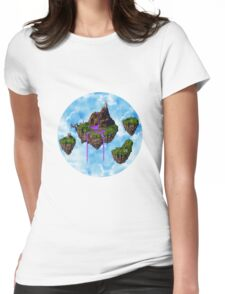 PURPLE WATER ZEAL ISLANDS  Womens Fitted T-Shirt