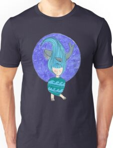 The girl and the whale Unisex T-Shirt