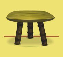 Glitch furniture chair firebog chair Kids Tee