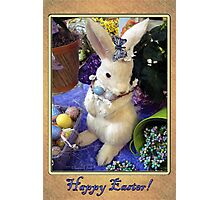 Time for the Easter Bunny Photographic Print
