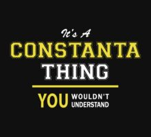 It's A CONSTANTA thing, you wouldn't understand !! by satro