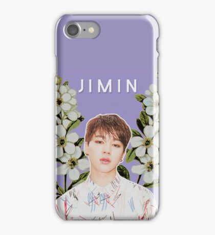 Flower child Jimin iPhone Case/Skin
