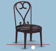 Glitch furniture chair hart bistro chair Baby Tee