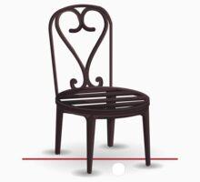 Glitch furniture chair hart bistro chair Kids Tee