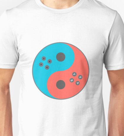 Yin Yang Switch Unisex T-Shirt