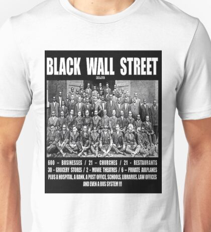 Black Wall Street Unisex T-Shirt
