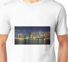 Manhattan Skyline Unisex T-Shirt