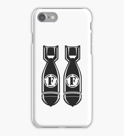 Double F BOMBS iPhone Case/Skin