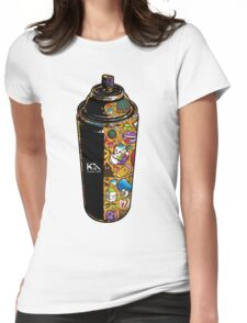 Spray  Womens Fitted T-Shirt