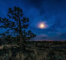 Van Goghish Moon/Redmond by Richard Bozarth