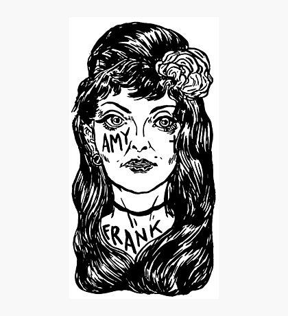 Amy Winehouse Photographic Print