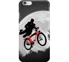 Pee's Wees Extraterrestrial Adventure (B&W) iPhone Case/Skin
