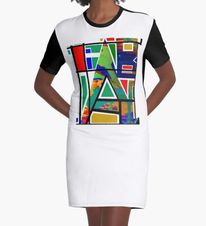 FAB Graphic T-Shirt Dress