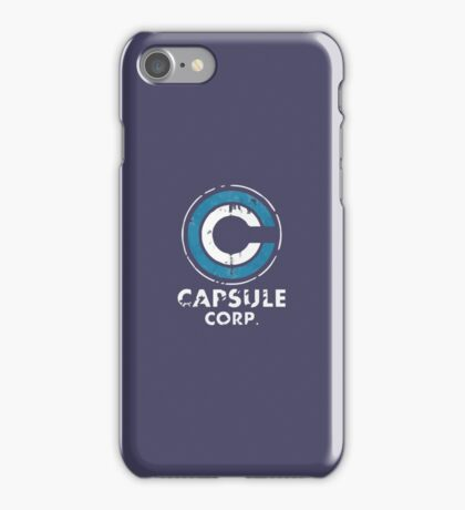 Capsule Corp iPhone Case/Skin