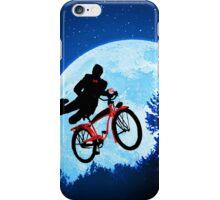 Pee's Wees Extraterrestrial Adventure   iPhone Case/Skin