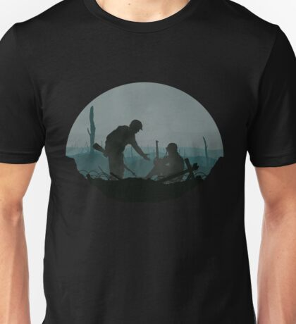 'Strength In No Man's Land' Design Unisex T-Shirt