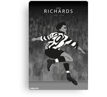 Lou Richards Canvas Print