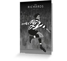 Lou Richards Greeting Card