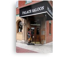The Palace Saloon Metal Print