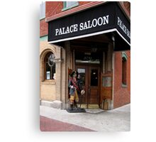 The Palace Saloon Canvas Print