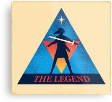 The Legend Metal Print