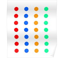 DOTs that look like a party Game Poster