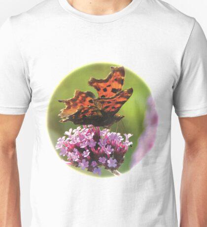 Butterfly on Verbena. Unisex T-Shirt