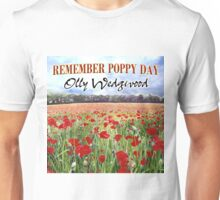Remember Poppy Day by Olly Wedgwood - CD & Video Art Unisex T-Shirt