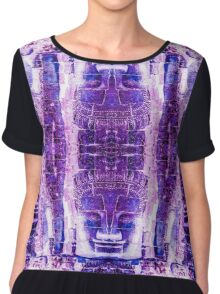 Temples in the sky Chiffon Top
