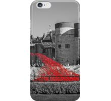 Cascading Red Poppies iPhone Case/Skin