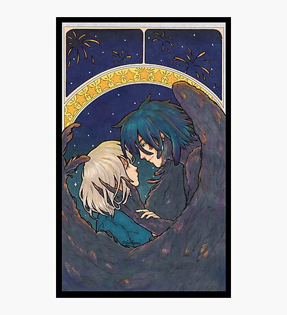 Starry Sky - Howl and Sophie Photographic Print
