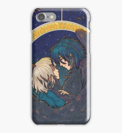 Starry Sky - Howl and Sophie iPhone Case/Skin
