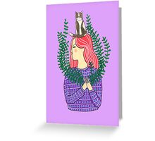 Cat on the head Greeting Card