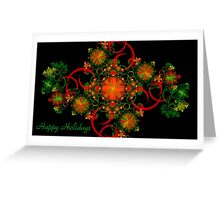 Celebration Holiday Card Greeting Card