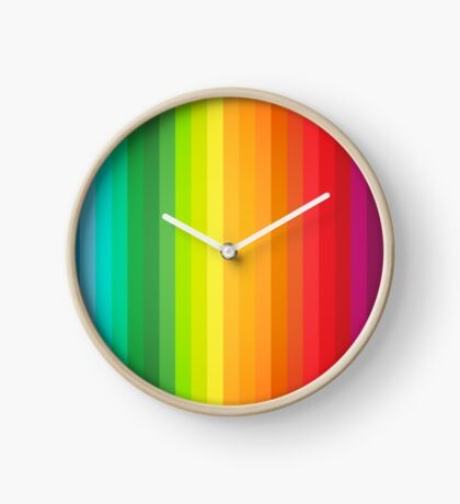 Main Colors Palette Spectrum Clock