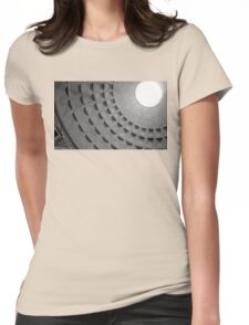 light from the gods Womens Fitted T-Shirt