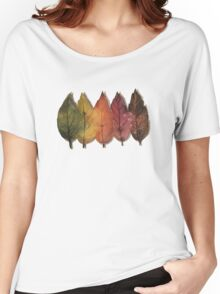 Forest leaves from spring to winter Women's Relaxed Fit T-Shirt