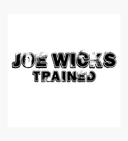 joe wicks trained Photographic Print
