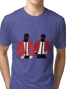 Tyler Joseph & Josh Dun - twenty one pilots emotional roadshow Tri-blend T-Shirt