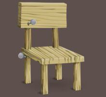 Glitch furniture chair hell chair One Piece - Short Sleeve