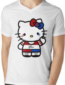 Hello Quinn Mens V-Neck T-Shirt