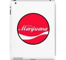 Enjoy Marijuana Red iPad Case/Skin