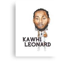 Kawhi Leonard Canvas Print