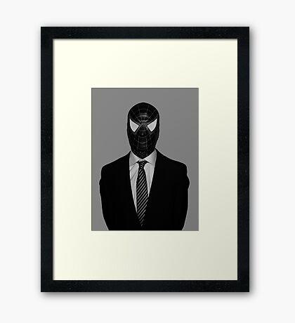 Venom Suit Up Marvel Framed Print