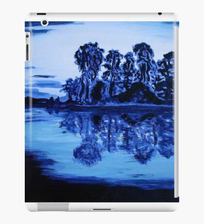 Blue, blue simply blue iPad Case/Skin