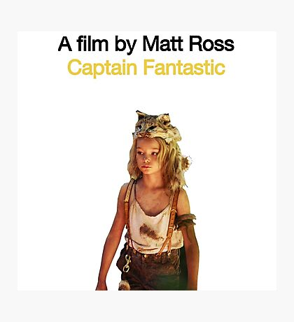 CAPTAIN FANTASTIC // MATT ROSS (2016) Photographic Print