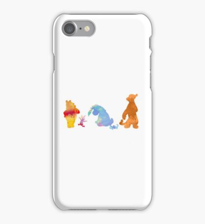 Friends together Inspired Silhouette iPhone Case/Skin