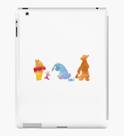Friends together Inspired Silhouette iPad Case/Skin