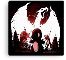 Pokémon: Charmender/Charizard Design Canvas Print