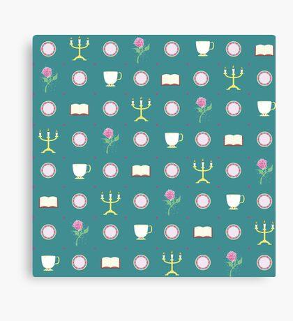 Beauty Pattern Canvas Print